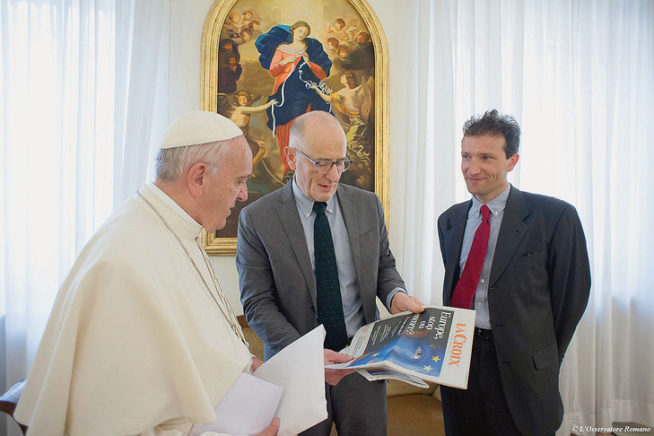 Pope Francis' exclusive interview to the French Catholic La Croix newspaper